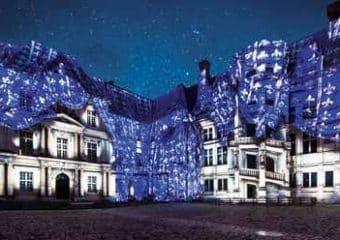 Spectacles nocturnes, illuminations… découvrez les châteaux parés de lumière