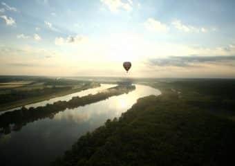 Prenez de la hauteur sur La Loire à Vélo !
