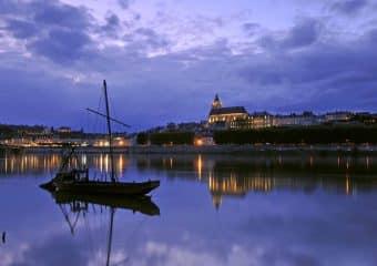 Les villes de La Loire à Vélo à découvrir de nuit