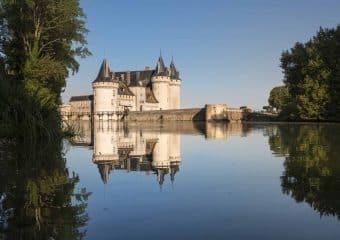 A vélo entre le château de Sully-sur-Loire et Orléans