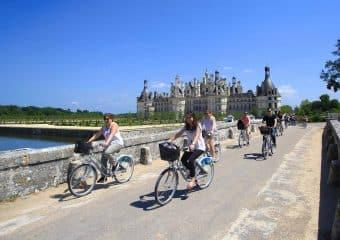 Une journée à vélo au Château de Chambord