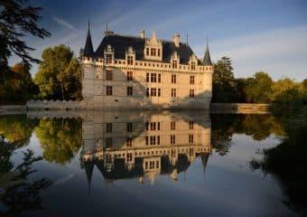 A vélo vers le château d'Azay-le-Rideau !