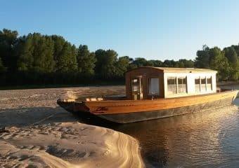 Balade automnale en bateau au fil de la Loire à bord de l'Alose