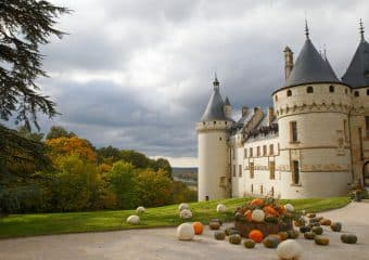 A vélo vers le château de Chaumont-sur-Loire et ses Splendeurs d'Automne