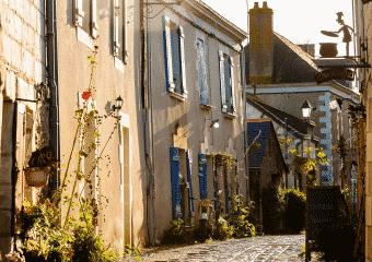 Entre villes et paysages de bords de Loire
